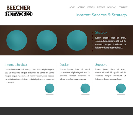 Beecher Networks Website