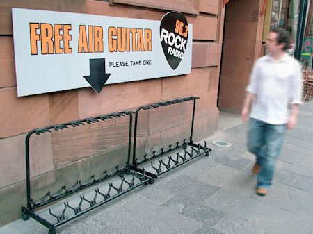 Free Air Guitars