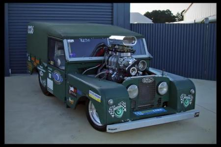 Land Rover Dragster