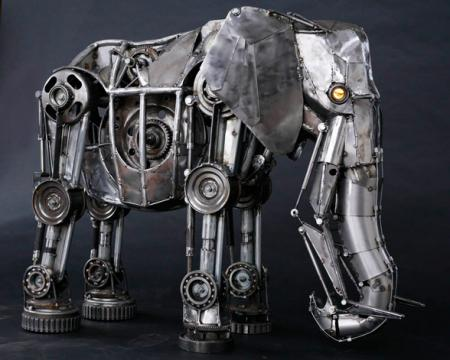 Mechanical Elephant, by Andrew Chase