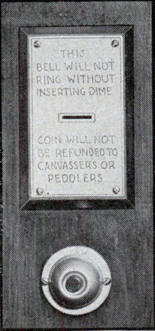 Coin Operated Doorbell