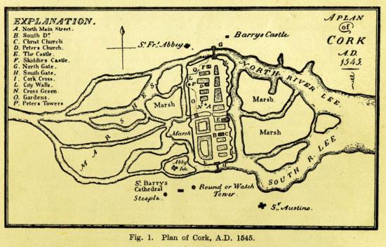 Cork in 1545